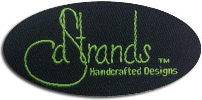 dStrands woven label