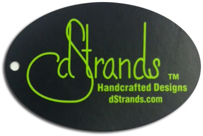 dStrands hang tag