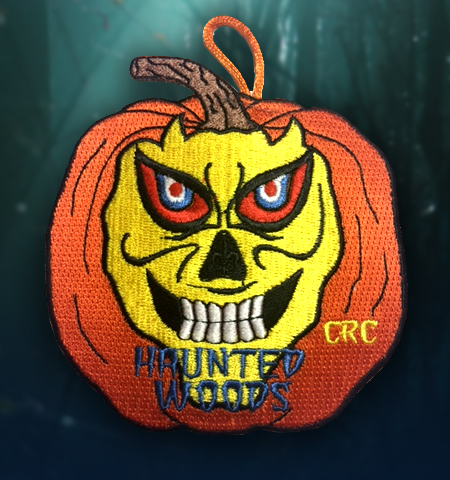 Haunted Woods CRC Patch