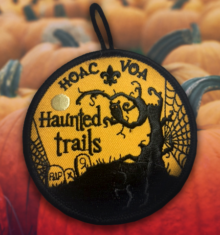 Haunted Trails Patch