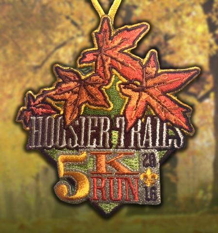Hoosier Trails 5k Patch