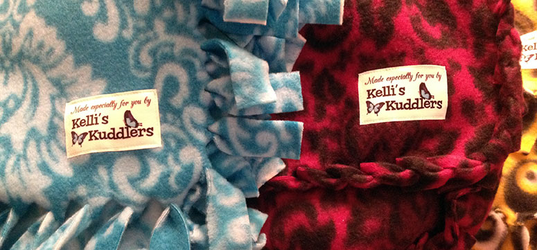 Kelli's Kuddlers Woven Labels