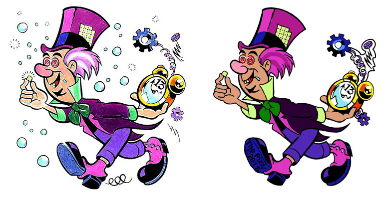 Mad Hatter Artwork For Patch