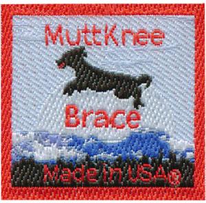 Muttknee Woven Label