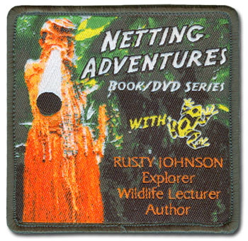 Netting Adventures Woven Patch