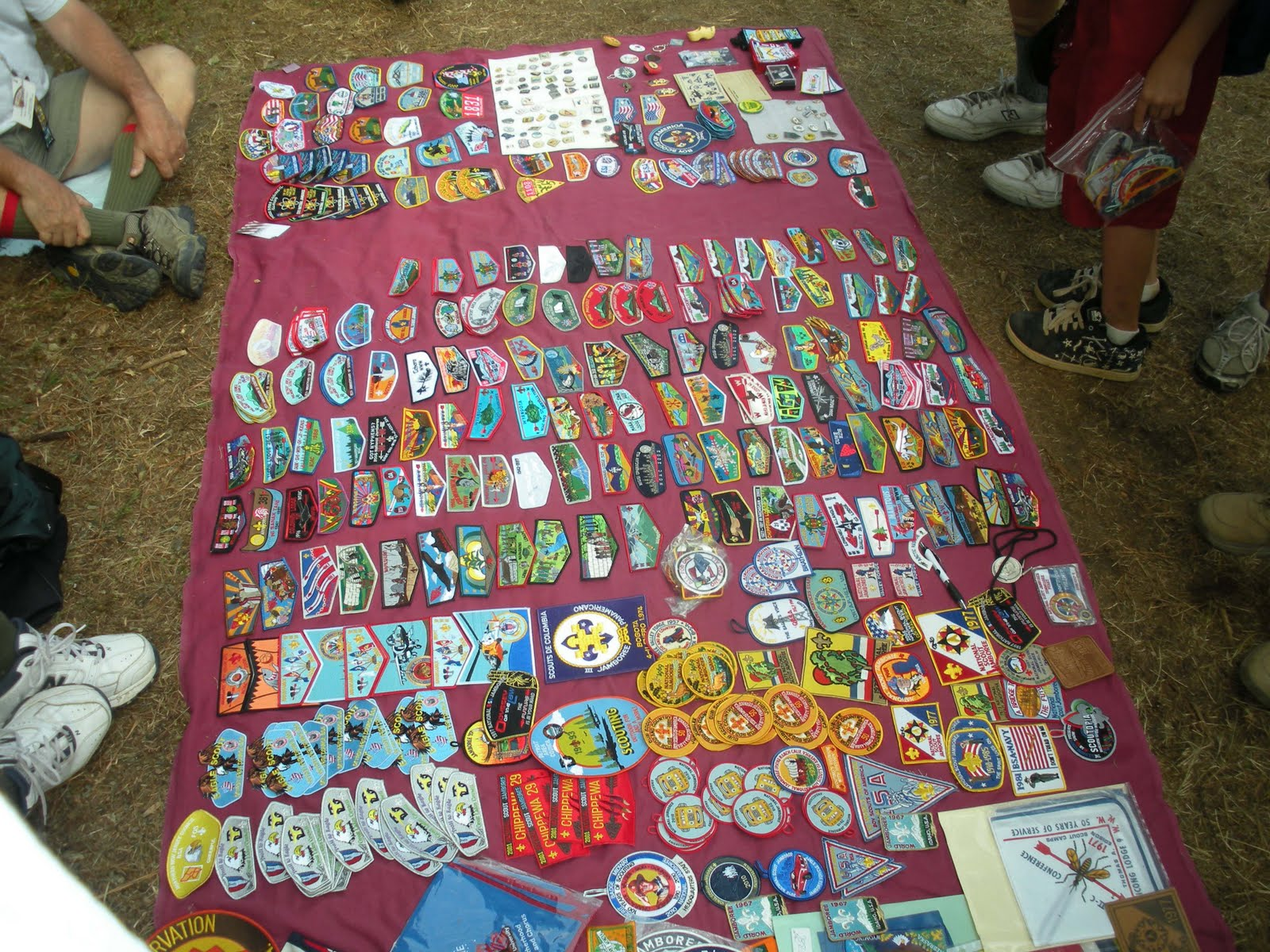 Patch Trading Display
