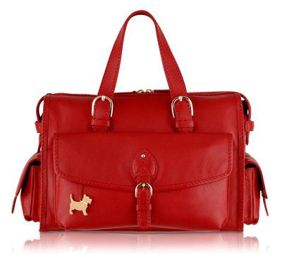 emblem on handbag