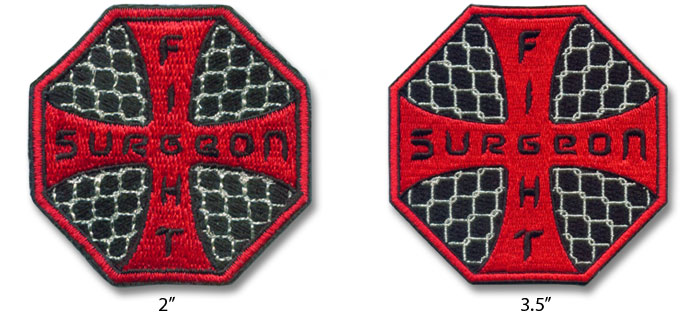 Smaller Embroidered Patches