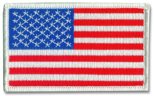 Large American Flag Patch