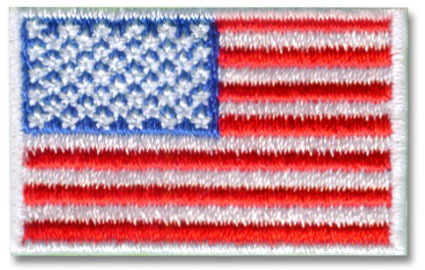 Small American Flag Patch