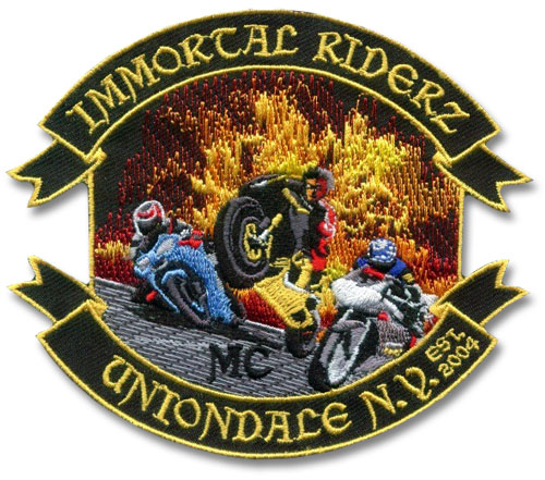 Small Biker Patch