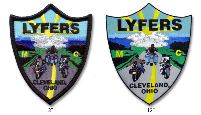 Size Variation in Embroidered Patches