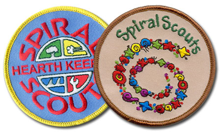 Spiral Scouts Patches