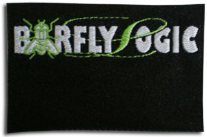 Woven Label for Barfly Logic Made By Quality Woven Labels