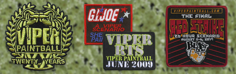 Viper Paintball Patch