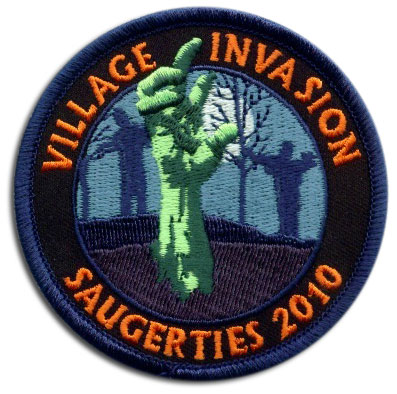 2010 saugerties zombie invastion patch
