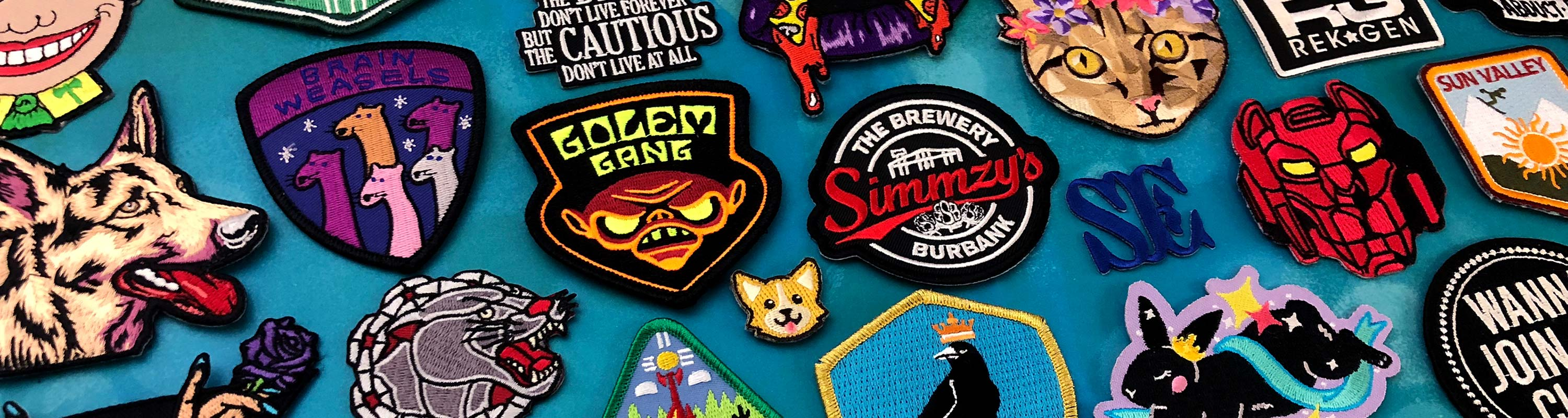 Custom Embroidered Patches | Stadri Emblems