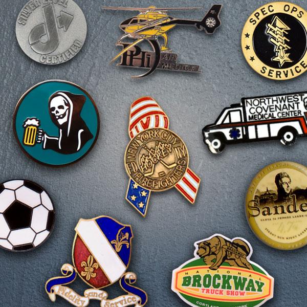 Custom Lapel Pins by Stadri Emblems