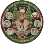 fallen heroes embroidered patch color