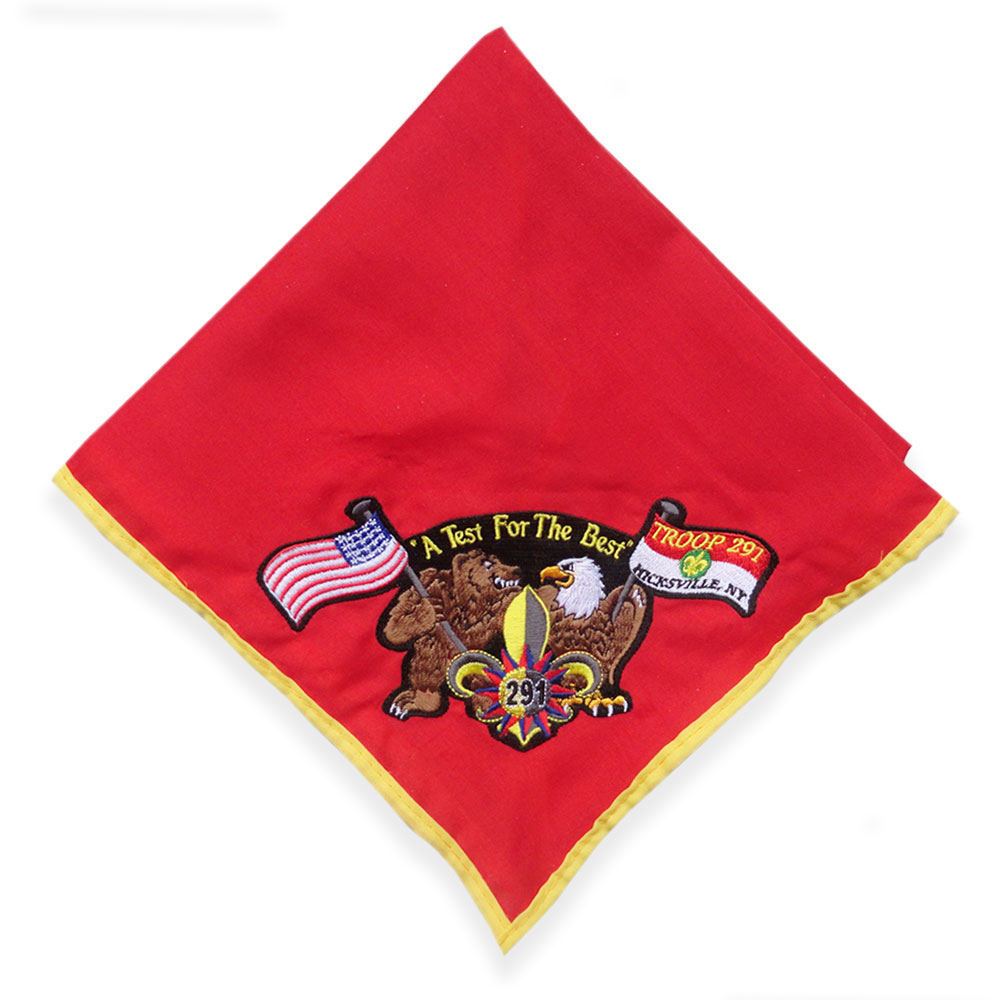 Neckerchief With Patch Attached